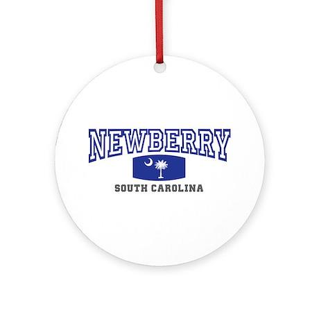Newberry South Carolina, SC, Palmetto State Flag O