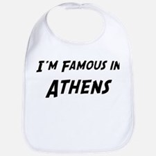 Famous in Athens Bib