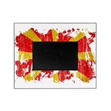 Macedonia Flag Picture Frame