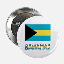 "Bahamas Flag Word 2.25"" Button"