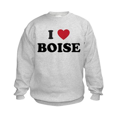 BOISE.png Kids Sweatshirt