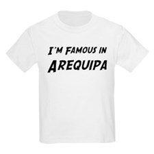 Famous in Arequipa Kids T-Shirt