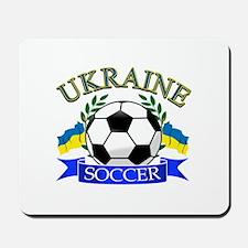 Ukraine Soccer Designs Mousepad