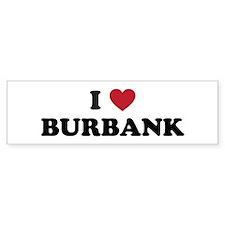 BURBANK.png Bumper Sticker