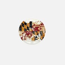 Maryland Flag Mini Button