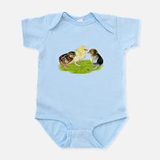 Baby Chicks Trio Infant Bodysuit