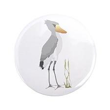 """Shoebill Stork 3.5"""" Button"""