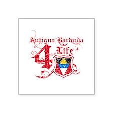 """Antigua Barbuda for life designs Square Sticker 3"""""""