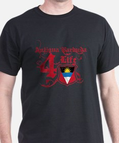 Antigua Barbuda for life designs T-Shirt