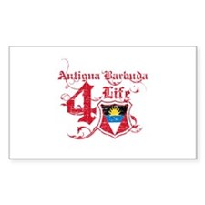 Antigua Barbuda for life designs Decal