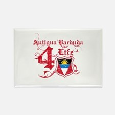 Antigua Barbuda for life designs Rectangle Magnet