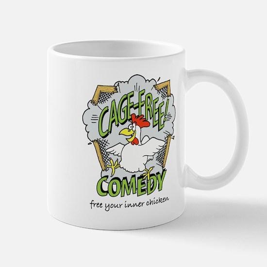 Cage Free Comedy Mug