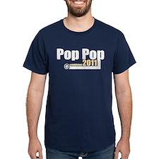 Pop Pop Established 2011 T-Shirt