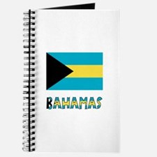 Bahamas Flag Word Journal