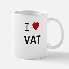 VAT Specialist Small Small Mug - I Heart VAT Small Small Mug