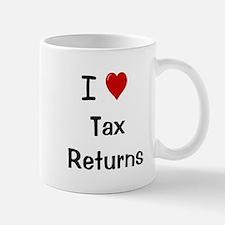 Tax Preparer Small Small Mug - I Love Tax Returns Small Small Mug
