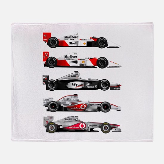 F1 grid.jpg Throw Blanket