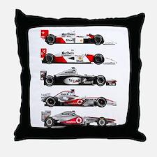 F1 grid.jpg Throw Pillow