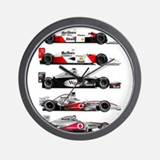 F1 grid.jpg Wall Clock