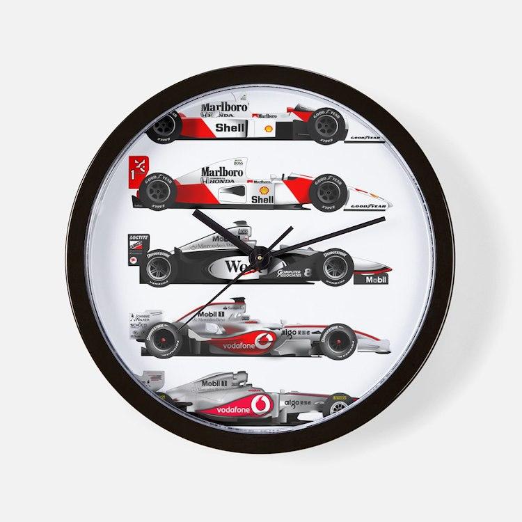 F1 grid.jpg Wall Clock