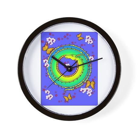 Sleeping dragon Wall Clock