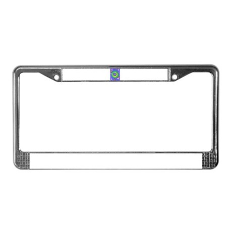 Sleeping dragon License Plate Frame