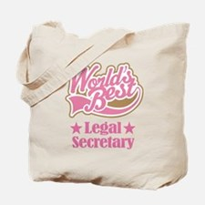 Legal Secretary Gift Tote Bag