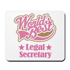 Legal Secretary Gift Mousepad