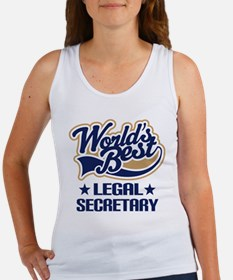 Legal Secretary Gift Women's Tank Top