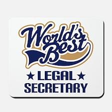 Legal Secretary Gift Mousepad