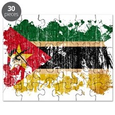 Mozambique Flag Puzzle