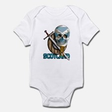 Infant Bearded Skull Bodysuit