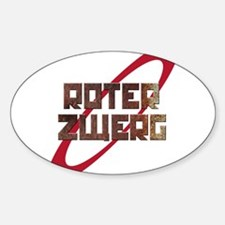 Roter Zwerg Mining Corporation Sticker (Oval)