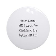 Dear Santa All I Want For Christmas Is A Bigger Li
