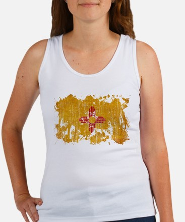 New Mexico Flag Women's Tank Top