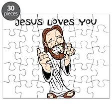 Jesus Loves You Puzzle