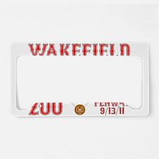Wakefield Of Dreams # 200 License Plate Holder