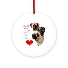 Mastiff 88 Ornament (Round)