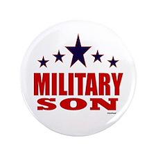 "Military Son 3.5"" Button"