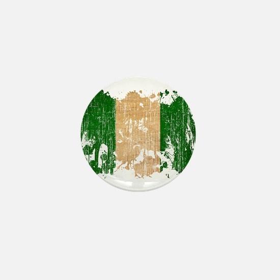 Nigeria Flag Mini Button