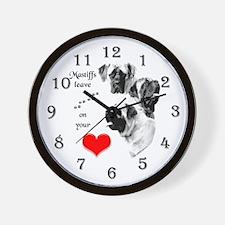 Mastiff 201 Wall Clock