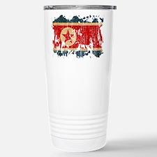North Korea Flag Travel Mug