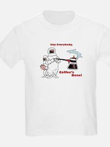 Coffee's Done Kids T-Shirt