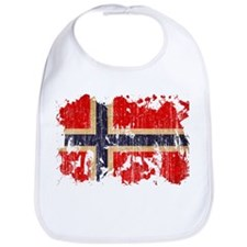 Norway Flag Bib