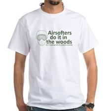 Airsofters do it in the woods - OD.PNG Shirt