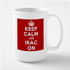 Keep Calm And IRAC On Mug