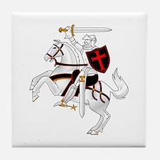 Seal Team 6 Crusader Tile Coaster