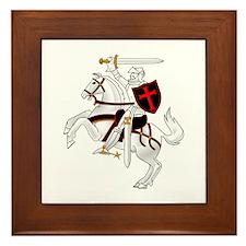 Seal Team 6 Crusader Framed Tile