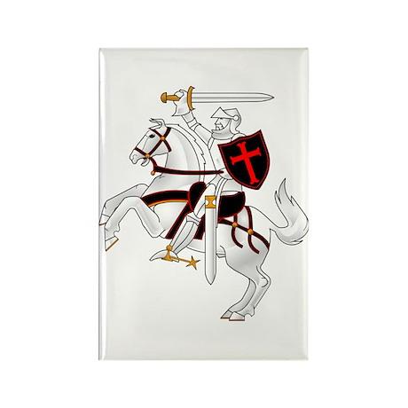 Seal Team 6 Crusader Rectangle Magnet
