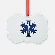 EMS EMT Rescue Logo Ornament